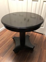 Solid Wood Round Table 26 inches tall 26 inches across in Fort Knox, Kentucky