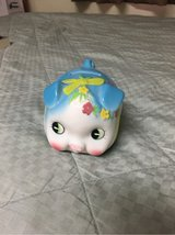 small ceramic piggy bank in Okinawa, Japan