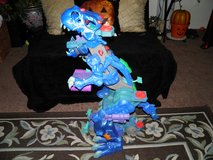 Fisher Price Imaginext 2.5 ft Ultra Ice T-Rex Action Figure Dinosaur in Byron, Georgia