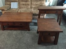 3 Living room tables and entryway table in Cherry Point, North Carolina