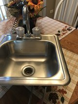 Bar size sink and faucet in Lockport, Illinois