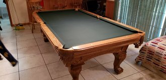 "1"" Slate Pool Table - LIKE NEW !! in Elgin, Illinois"