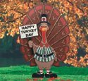 Happy Turkey Day Sign in Alexandria, Louisiana