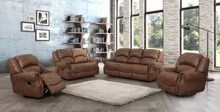 Lodge Recliner Set - Sofa + Loveseat + Chair including delivery - Rocker Recliner available in Ansbach, Germany