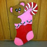 Bear In Stocking in Alexandria, Louisiana
