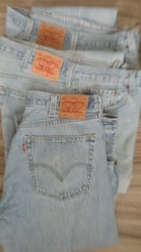 Levi's 501 button fly, size 38x34 (Qty. 3) in Conroe, Texas