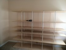 Shelving unit 24 inches deep 8 feet long. in Byron, Georgia