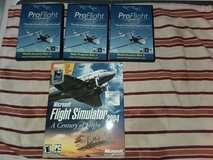 Box full of Flight Simulator software in Camp Lejeune, North Carolina