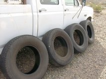 Tires in Yucca Valley, California