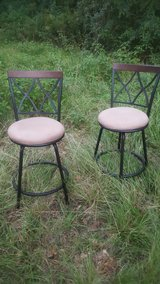 set of 4 swivel bar stools in Cleveland, Texas