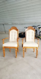 REDUCED wooden chairs in Peoria, Illinois