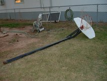 basketball hoop/stand in Alamogordo, New Mexico