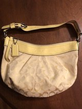 Coach Purse - yellow in Naperville, Illinois