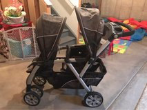 Chicco Cortina double stroller in Plainfield, Illinois
