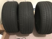 3 slightly used Michelin tires in Fort Hood, Texas