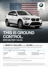 MASSIVE DISCOUNT - $8.350 – 2018 BMW  X1 in Hohenfels, Germany