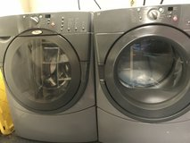 Whirlpool duet HE front load washer and dryer set in Travis AFB, California