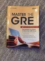 Master the GRE Book in Ramstein, Germany