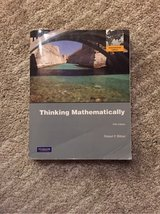 Thinking Mathematically Textbook in Wiesbaden, GE