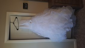 Wedding dress in Fort Knox, Kentucky