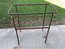 Old handmade welded frame in DeRidder, Louisiana