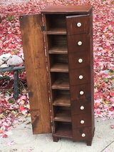 Old 7-Shelf Bookcase Display Cabinet in St. Charles, Illinois
