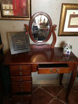 Jewelry vanity seven drawers one side door 16 inches deep 36 inches wide 31 inches tall in Conroe, Texas