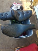 Harley seats in time for LSR this weekend in Pasadena, Texas