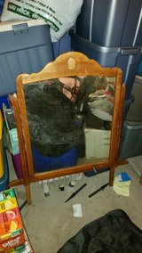 REDUCED Vintage Dresser Mirror in Oswego, Illinois