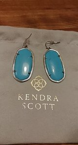 large turquoise drop kendra scott earrings in Spring, Texas