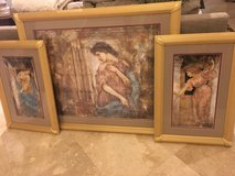Set of Three Greek Women Wall Art in Houston, Texas