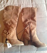 New size 8 Mossimo  womens boots in Fort Leonard Wood, Missouri
