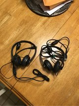 2 Logitech headsets w/microphone in Cherry Point, North Carolina