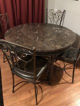 Dining Table w/4 Chairs & Side/Buffet Table in Nashville, Tennessee