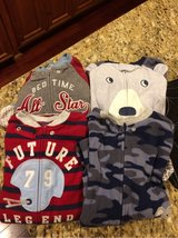 4 Pairs Carters Footed PJs (4T) in Naperville, Illinois