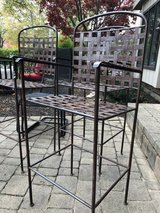 : ) 4 Wrought Iron Bar Stools in Glendale Heights, Illinois