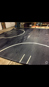 Extra large mat for wrestling/tumbling/jujitsu in Tinley Park, Illinois