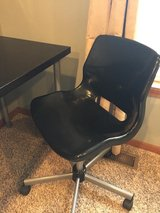 IKEA Limmon desk and (retired) chair in Yorkville, Illinois