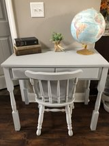 solid wood desk and chair in Clarksville, Tennessee