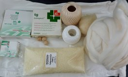 Material for Waldorf Dolls and handmade dolls, pattern clothing in Stuttgart, GE