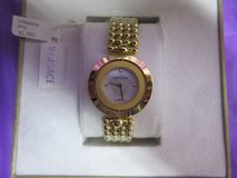 Brand new Authentic Versace WOMEN'S 34mm MOTHER OF DIAL SWISS WATCH in Chicago, Illinois