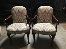 Goose Neck Arm Chairs - 2 in Kingwood, Texas
