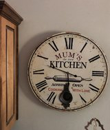 Kitchen Wall Clock with Pendellum in Fort Benning, Georgia