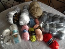 mixed lot knitting wool in Lakenheath, UK