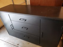 Black painted buffet cabinet in Morris, Illinois