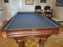 Pool table, chairs and accessories in Kingwood, Texas