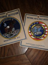 Space collectables in Nellis AFB, Nevada