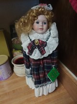 cherished collections porcelain 16'' maria doll in Fort Irwin, California