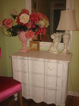 shabby chic serpentine french dresser / chest of drawers in Westmont, Illinois