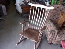 Wooden Rocking Chair in Fort Riley, Kansas